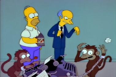 monkey-typewriters-simpsons-paper